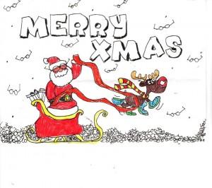 January eshot christmas card